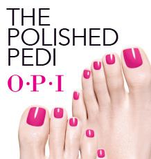 OPI Pedicure - The Pamper Room